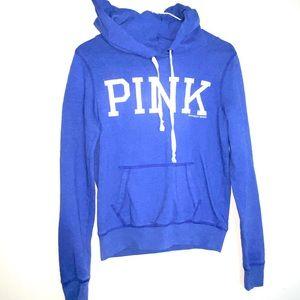 PINK by Victoria secret S hoodie purple blue EUC